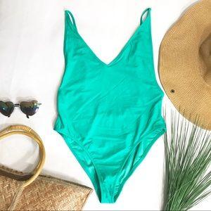 Topshop Swim - • Topshop Mint One-Piece Bikini •